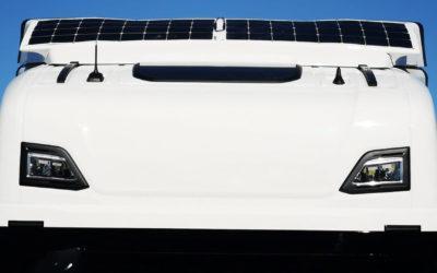 Nakładki solarne scania