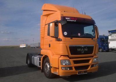 Spojler ciężarówki Man