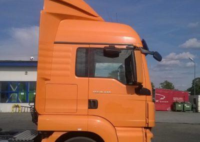 Spojler ciężarówki