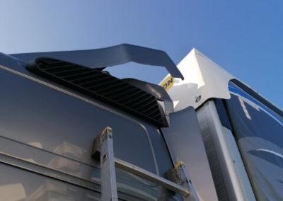 produkcją spojlerów, podwyższeń dachowych, kabin sypialnych