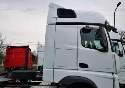 podwyższenia dachowe ciężarówki